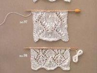 Tricot, crochet et autres techniques