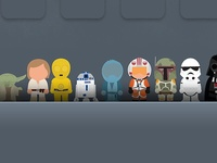 Look for my other Star Wars boards by theme.