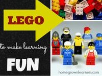 a board for people who love #legolearning