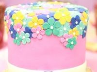 A stunning cake is a wonderful centerpiece for your party.  Check out these birthday party cakes, baby shower cakes, wedding cakes, and lots more!  See more party ideas at CatchMyParty.com.