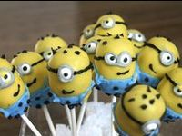 Cake pops are a fun addition to any party!  Check out these birthday cake pops, baby shower cake pops, wedding cake pops, and more!  See more party ideas at CatchMyParty.com.