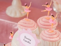 Ballerina party ideas for girl birthdays  --  ballet cakes, decorations, party foods and favors. See more party ideas at CatchMyParty.com.
