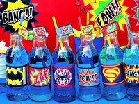 Superhero party ideas for birthdays  --  Superhero cakes, decorations, party foods and favors. See more party ideas at CatchMyParty.com.