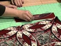 Wow - I found the mother lode of quilting tutorials.  What an education we can receive just from watching these.  Thank you Pinterest!
