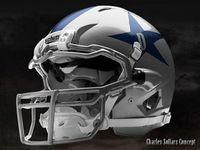 Top 25 ideas about nfl concept helmets on pinterest - Dallas cowboys concept helmet ...