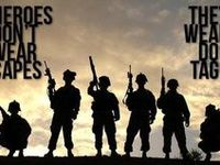 He risks his life for people he doesn't even know. Imagine what he would do for me. Support our troops. Stand behind them or feel free to stand in front of them. Land of the free, thanks to the brave.