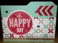 stamping projects featuring Stampin' Up! produtcs