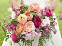 Bride and bridesmaid bouquet ideas, plus unique floral decorations to hold