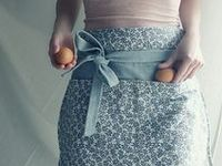 Cute, stylish, and old-fashioned aprons.
