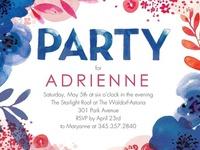 invitations + pretty paper.