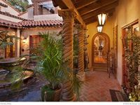 Beautiful Spanish style homes and gardens are very warm and inviting. Get inspiration and add a touch of Spanish-inspired flair into your home.