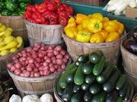 farmer's market...