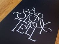 Typography that is fun, interesting and conceptual.