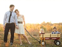 Inspiring family portraits and styled family photography sessions.