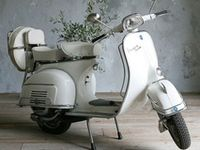 Anything on wheels that appeals to me ~ I've always wanted a Vespa - I used to talk about it when I was in high school how I was going to be a nurse and ride to work on my Vespa Scooter - a white one, too!  Now I love a Harley, but a Vespa is just ME!...