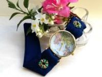 World map bracelet watches / For all map watch lovers, HARMONY HOUR WATCHES has selected it's favorite World map watches, all together. Women's bracelet watches, fabric watches.  Unique handmade, perfect gift idea for women