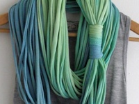 ... Scarves, headbands, bracelets, necklaces, etc) on Pinterest | No sew