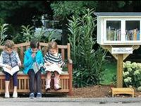 I love the Little Free Library movement!  I love seeing new ones pop up in in my community.  We can't all agree on much but we seem to be able to agree that books are awesome and should be accessible to all!  Please do not repin 40 pins at once from this board or I will sadly block you.