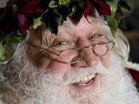 Santa in the Flesh