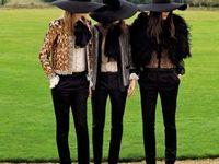 F/W LOOKBOOK / Gold, Maroon, Leather, Black, & Fur