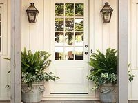 entry ways and exteriors