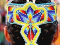 Native American beadwork and quillwork