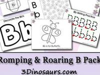Resources for teaching ABCs to children.