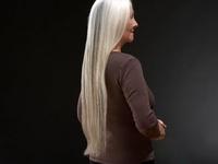Gorgeous Silver/Grey Hair