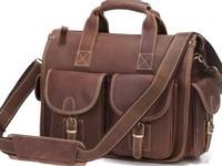 Men's bags, men's duffels, men's briefcases of all kinds.