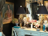 A Woman's Dressing Room ... Could Very Well Be the MOST Glamorous Spot in the Home ...