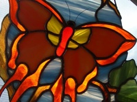 stained glass so beautiful ...not enough time
