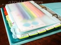 Filofax / Moleskine / planner / journal / notebook / agenda / family binder / bullet journal + printables + desk supplies + stationary