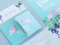 *Wedding Stationery / Fave Wedding Stationery Ideas - invites, save the dates and printables!