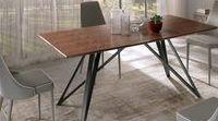 Tavoli per Tutti / Mobili a Colori realizza tavoli su misura #stileindustriale #legnomassello #coloratiamano in tutte le misure