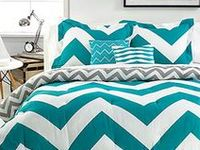 Make waves in your home with the latest trend in bold chevron prints to add maximum impact!