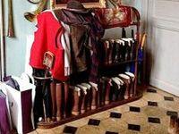 Where do you put all your everyday living stuff?  #Laundry #storage #storageideas #mudrooms ♥♥♥The Daily Basics.com ♥♥♥