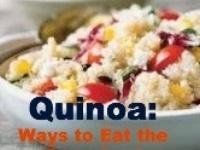 Quinoa and Friends