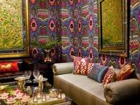 Handmade silk and silkvelvet Ikat- & Suzani