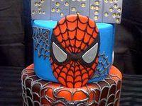 Super Heroes & Ninja Turtle Cakes
