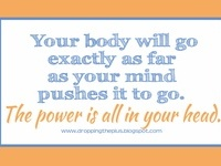Quotes, tips, graphics and images that motivate and inspire me to keep working on dropping the plus from my size.