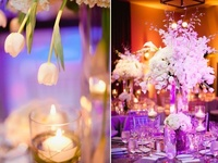 How many times have you been to an elegant wedding and wished you could take the table centerpiece home