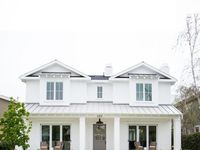 155 Best Symmetrical Houses Images On Pinterest American