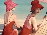 Praia de outrora/ Vintage beach illustrations