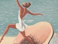 beachy glam