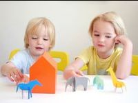 Activities for children between art and imagination