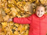 Fun fall activities includes everything from playing in the leaves to playing Fastrack at Thanksgiving with your family!