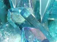 Gemstones and beautiful minerals dug out of the Earth
