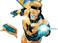 All things superheroes, but I love Booster the most