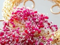 Jewelry made primarily from #fibers and #felt