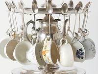 Ideas for Tea Cups, Tea Pots, Plates, and Silver
